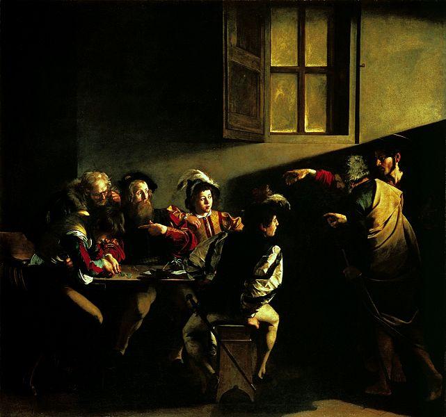 641px-Caravaggio_-_La_vocazione_di_San_Matteo