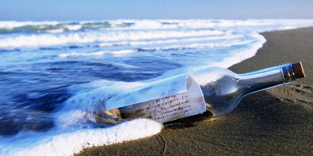 bottiglia mare